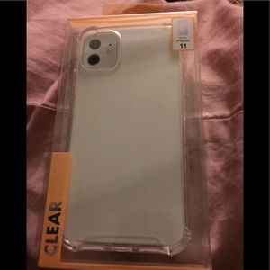 NEW- Iphone 11 Clear Case